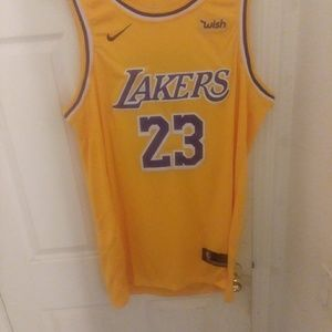 Lebron James Los Angeles Lakers #23 Jersey XXL